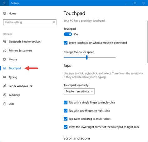windows 10 touchpad tutorial how to configure your touchpad in windows 10 digital citizen