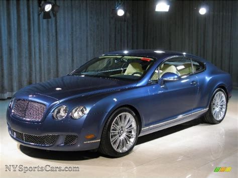 Blue Bentley Coupe