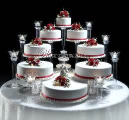 8 tier cascading wedding cake stand stands 8 tier candle stand set ebay