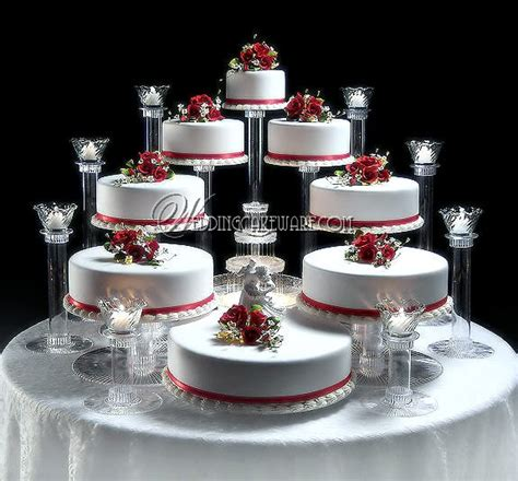 Wedding Album Stand by 8 Tier Cascading Wedding Cake Stand Stands 8 Tier Candle