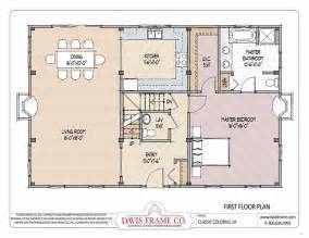 Colonial Plans by Barn House Plans Classic Colonial Layout 1a Davis Frame