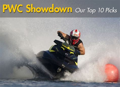 should i buy a pwc or boat pwc show down our top 10 personal watercraft picks