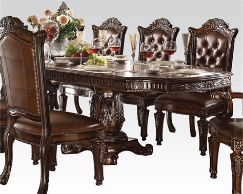 acme dining room furniture dining set vendome cherry by acme furniture ac62000set