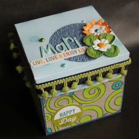 tutorial explosion box en español tutorial exploding box x 232 nia crafts