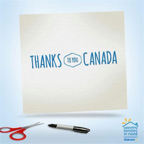Walmart Thank You Cards Canada