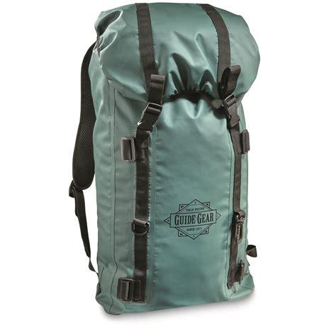 backpack duffel bag guide gear waterproof bag backpack 657773 gear