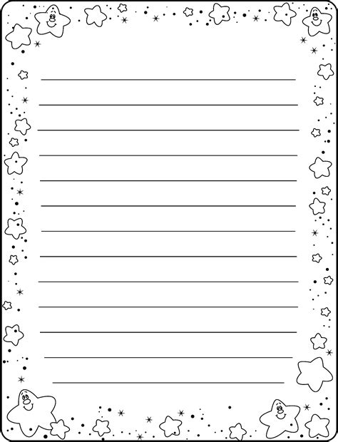 printable black and white stationery printable stationery black and white www imgkid com