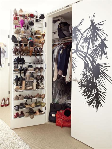 Inspirations Creative The Door Shoe Rack Design For Space Saving Ideas Space Saving Lifestyle S Spatially Challenged Loft Design Tips