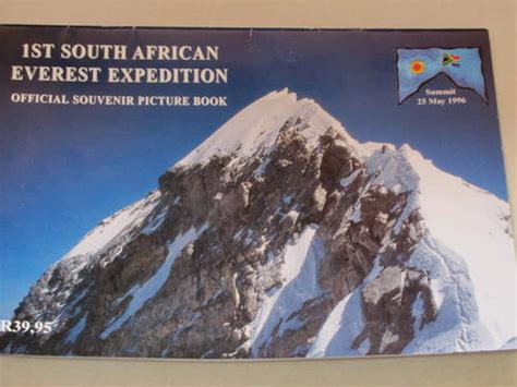 1996 everest film expedition unusual items official souvenir brochure of the first sa