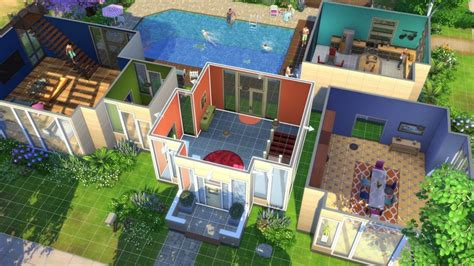 Mod The Sims Big Family Small Budget 5 The Sims 4 Announced For Ps4 And Xbox One J Station X