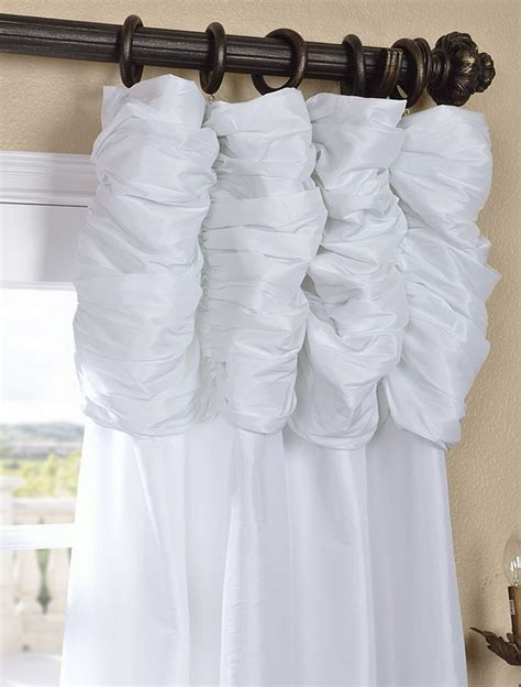 white taffeta drapes white taffeta curtains romancing my home pinterest