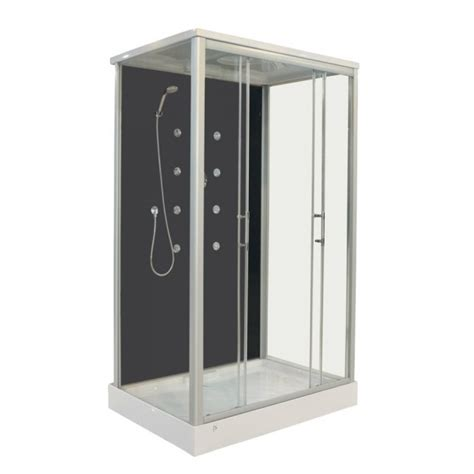 cabine doccia con idromassaggio box doccia rettangolare 120x90 cm con idromassaggio 8