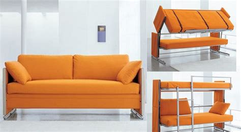 bed and couch bunk bed sofa for a greater room design and function