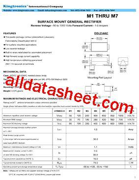 diode m7 datasheet m7 diode datasheet 28 images m7 datasheet datasheets manu page 1 1n4007 未知厂家 pdf vcc2gnd