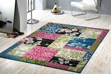 teppich paradies gro 223 er design patchwork teppich paradise 160x230 cm l 228 ufer