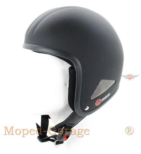 Jet Helm Aufkleber by Moped Garage Net Chopper Custom Motorrad Helm Matt