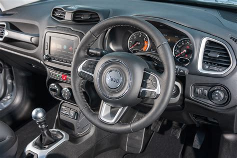 jeep renegade interior jeep renegade review and uk test drive