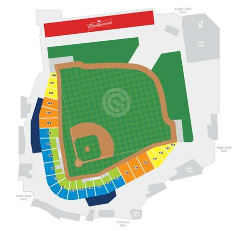cubs seat chart sloan park tickets chicago cubs