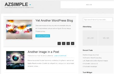 theme blog simple best of 2012 50 free wordpress themes noupe