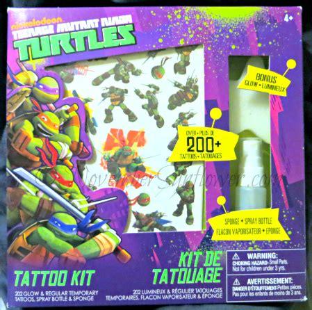 turtles tattoo kit teenage mutant ninja turtles is a huge win for the boy
