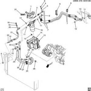 2000 Pontiac Bonneville Parts 2000 Pontiac Bonneville A C Refrigeration System