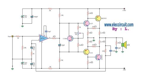 transistor 2n3055 circuit stereo transistor lifier schematic get free image about wiring diagram