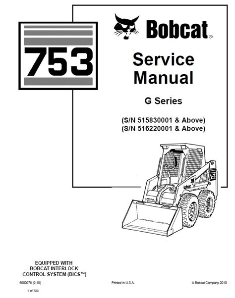 bobcat 753 wiring diagram 25 wiring diagram images