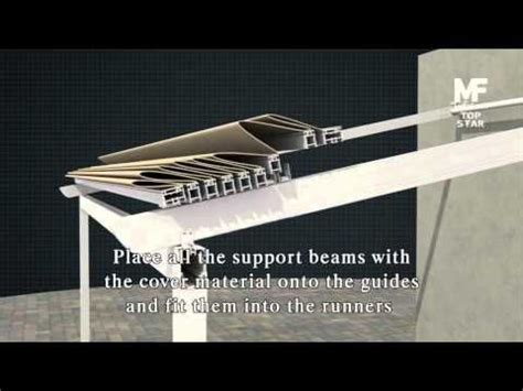 how to build a retractable awning how to build a retractable awning youtube manualidad