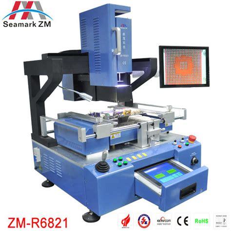 reprise ordinateur de bureau zhuomao seamark zm automatique vision zm r6821 bga station
