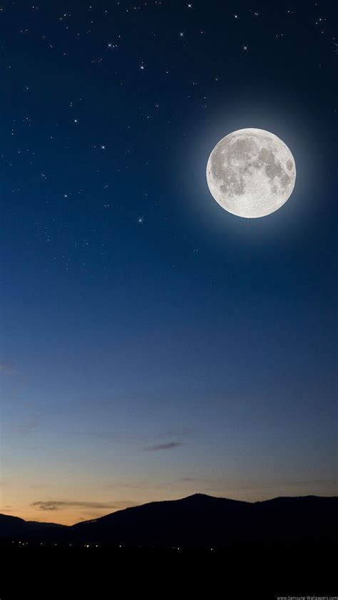 samsung galaxy z3 hd wallpaper moon landscape stock 720x1280 samsung galaxy z3 wallpapers