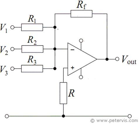 summing with resistors resistor summing circuit 28 images summing lifier