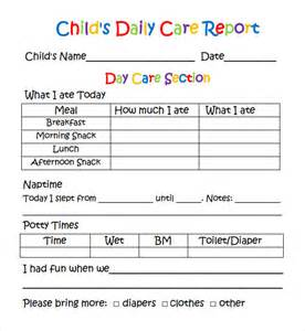 Daycare Report Card Template 1000 images about ps learning assessment reports on