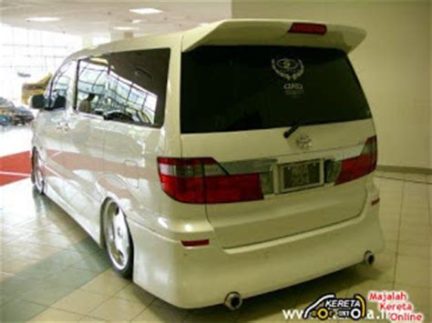 Tomica Toyota Alphard Custom Bodykit 1 bodykit luxury cars alphard