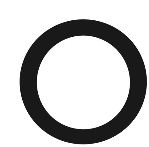 Circle Black Outline by Black Outlined Circle Clip At Clker Vector Clip Royalty Free Domain