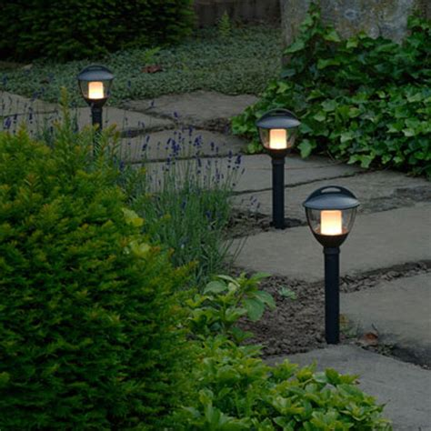 12 volt garden lighting sets garden bollard light 12v laurus