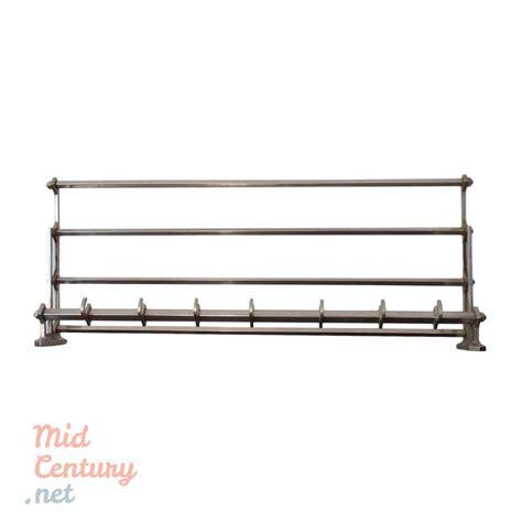 Metal Wall Coat Rack by Wall Coat Rack Made Of Metal Mid Century