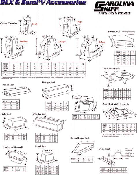 carolina skiff bench seat carolina skiff options
