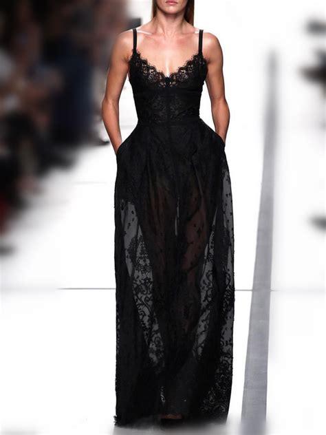 Bj 7830 Khaki Black Lace Dress Lace Slip Dress Black On Luulla
