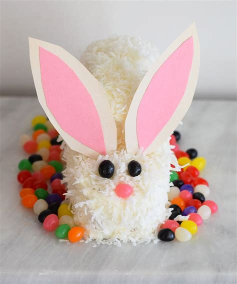 how to make a bunny cake how to make an easter bunny cake