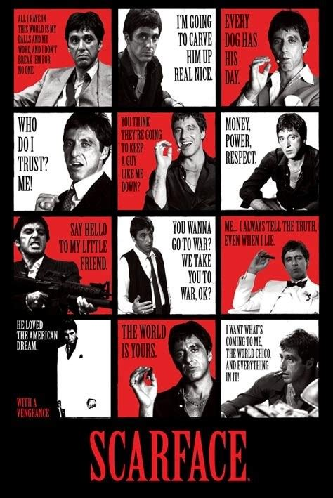 Special For Loyal Ft Readers Save 10 The Fab Selection At Azalea But Act Fast As The Offer Ends Sunday At Midnight 1112 Fashiontribes Fashion by Scarface Quotes Poster Sold At Europosters