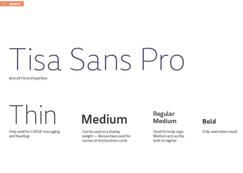 typography brand guidelines working with brand and design guidelines