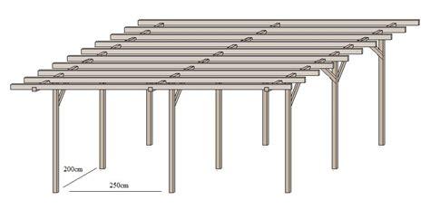 carport selber bauen anleitung doppelcarport aus holz selber bauen 187 www selber bauen de