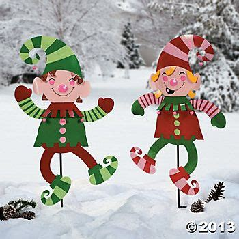 elves lightingand decorating charlotte yard decorations yard stakes supplies outdoor decor garden indoor