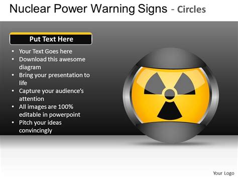 ppt templates for nuclear nuclear power circles powerpoint presentation slides db