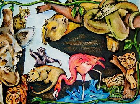 painting zoo zoo by