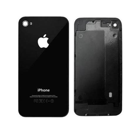 Back Cover Iphone 4 Bol Iphone 4 Achterkant Back Cover Zwart