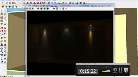 tutorial vray sketchup luces video 003 sketchup en espa 241 ol luces ies diferentes