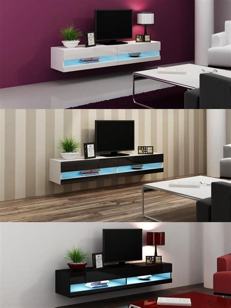 white tv stand with led lights white high gloss living room furniture tv stand with led