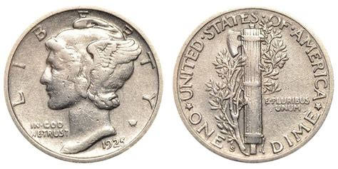 1925 s mercury dimes winged liberty silver dime value and