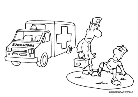 Paramedic Coloring Pages paramedic coloring pages az coloring pages